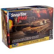 Revell SnapTite Max Abrahms M1A1 Tank Model Kit