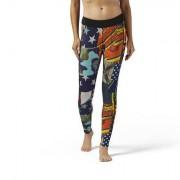 Reebok Женщины- Легинсы Reebok CrossFit Starbang Print