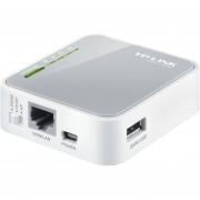 Router Mini Portatil Tp-Link TL-MR3020 Redes 3G/4G Y Access Point-Gris