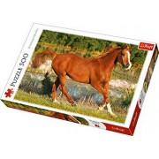 Puzzle Frumosii cai, 500 piese