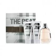 The Beat Coffret: Eau De Parfum Spray 75ml/2.5oz + Body Lotion 100ml/3.3oz + Shower Gel 100ml/3.3oz 3pcs The Beat Комплект: Парфțм Спрей 75мл + Лосион за Тяло 100мл + Душ Гел 100мл