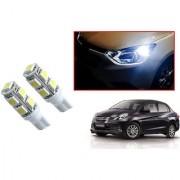 Auto Addict Car T10 9 SMD Headlight LED Bulb for Headlights Parking Light Number Plate Light Indicator Light For Honda Amaze