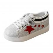 Niño Toddler Zapatos LED Luminoso Niños-rojo