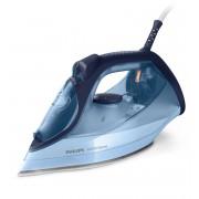 Fier de călcat cu abur Philips DST6008/20, 2600 W, 0.55 ml, Debit abur 40 g/min., Jet abur 220 g/min., Talpa ceramica, Albastru