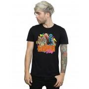 Absolute Cult Joe Exotic Men's 80s Retro T-Shirt Noir Medium