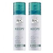 RoC Keops Deodorant Spray Frisheid Verlaagde Prijs 2x100 ml