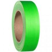 Adam Hall Gaffa páska se skelným vláknem Adam Hall 58065NGRN, (d x š) 25 m x 38 mm, neonově zelená, 1 ks