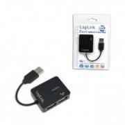 HUB USB 2.0 EXTERN, 4*USB, SMILE LOGILINK UA0139