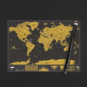 Световна Скреч Карта Делукс XL