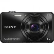 Aparat foto digital Sony Cyber-Shot DSC-WX220, 18 MP, Wi-Fi, Black