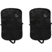 PRAHAN INTERNATIONAL Men's Coat Blazar Cover Bag Suit cover Pack of2 PIS-C2B041(Black)