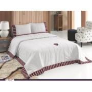 Set de pat cu cuvertura matlasata US Polo Stamford 240 x 260 cm
