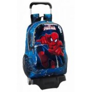 Ghiozdan scoala si troler ULTIMATE SPIDERMAN 33x43x15