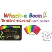 Rhythm Band Whack-A-Boom Card Game by Whacky Music