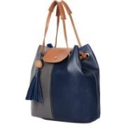 New Eva Women Blue Shoulder Bag