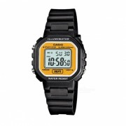Casio Estandar Negro Digital Resin Strap LA-20WH-9A
