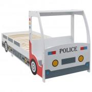 Sonata Детско легло полицейска кола с бюро, 90x200 cм