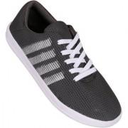 Calaso Men's Grey Sports Running Jogging Walking Comfort Shoes