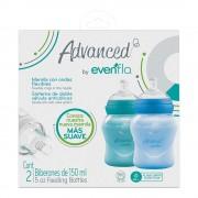 Evenflo Set de biberones Evenflo Advanced Recién Nacido 2 pzas