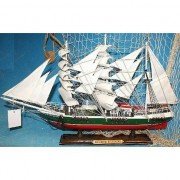 Geen Decoratie houten model schip R.Rickmers 50 cm