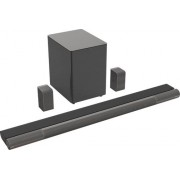 VIZIO - Elevate™ 5.1.4 Channel Soundbar with Wireless Subwoofer and Rotating Speakers for Dolby Atmos / DTS:X - Charcoal Gray