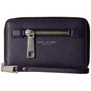 Marc Jacobs Gotham Zip Phone Wristlet Nightshade