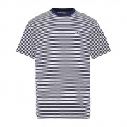Tommy Jeans T-shirt Uomo Classics All Over, Taglia: L, Per adulto Uomo, Blu, DM0DM05515002