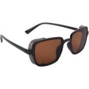 NuVew Wayfarer, Shield Sunglasses(Black)