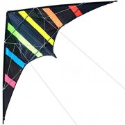 Hengda Kite-Aurora 48 inch Dual Line Stunt Kite for Kids and Adults, Outdoor Sports,Beach and Fun Sport Kite,Handle,Line,and Bag Included
