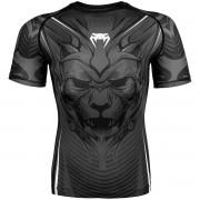 Venum Bloody Roar Dry Tech Short Sleeve MMA Rashguard - Gray S