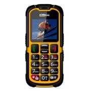 """MaxCom MM910 Strong 2"""" Nero, Giallo Telefono di livello base"""