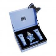 Mugler Angel zestaw - woda perfumowana 25 ml + balsam do ciała 50 ml + żel pod prysznic 50 ml