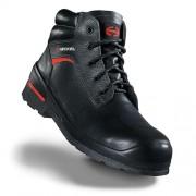 Členková bezpečnostná obuv s kompozitnou špičkou HECKEL MACSOLE 1,0 INH 6264000 Farba: Čierna, Veľkosť: 48
