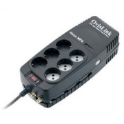 Regulador de Voltaje Neon 1200VA 6 Schuko Ovislink