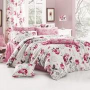 Lenjerie de pat dublu din policotton Name Pink