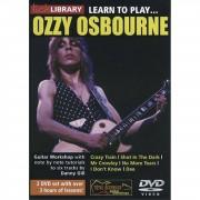 Roadrock International Lick Library: Learn To Play Ozzy Osbourne DVD
