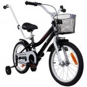 Bicicleta Sun Baby 16 inch negru