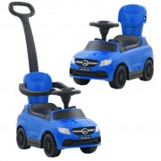 vidaXL Ride-on Car with Push Bar Mercedes Benz GLE63 Blue