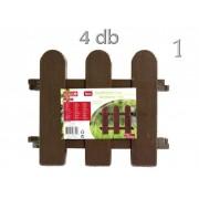 Kerti kerítés elem 4db 2féle színben - Kerti áru