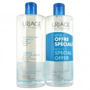 Uriage acqua micellare duo 2 x 500 ml pelle normale/secca