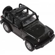 Welly schaalmodel Jeep Wrangler Rubicon Cabrio 1:34 groen 11 cm