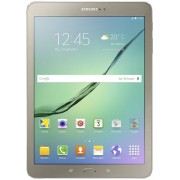 "Tableta Samsung Galaxy Tab S2 9.7 (2016) T819, Procesor Octa-Core 1.8GHz / 1.4GHz, Super Amoled Capacitive touchscreen 9.7"", 3GB RAM, 32GB, 8MP, Wi-Fi, 4G, Android (Auriu) + Cartela SIM Orange PrePay, 6 euro credit, 4 GB internet 4G, 2,000 minute national"