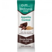 Wellness Code® Appetite Control Bar , Cocoa Quinoa Crunch, 12 each