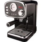 Sirge Macchina per Caffe Espresso e Cappuccino caffe in polvere e Cialde di carta POMPA ITALIANA 15bar con 3 Filtri per 1 e 2 tazzin