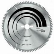 Panza de ferastrau circular de banc Optiline Wood 350x30mm