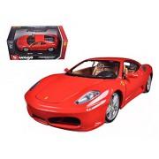 Ferrari F430, Red - Bburago 26008 - 1/24 scale Diecast Model Toy Car