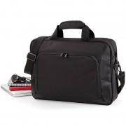 Quadra Luxe werktas/laptoptas zwart 41 x 30 cm