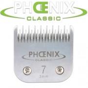 Phoenix Testine in acciaio 7-3mm (cani - toelettatura cane- gatti -toelettatura gatto)