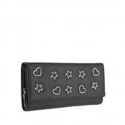 Dámská černá peněženka 9422