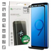 4smarts Colour Frame Glass Samsung Galaxy S9 Screen Protector - Black